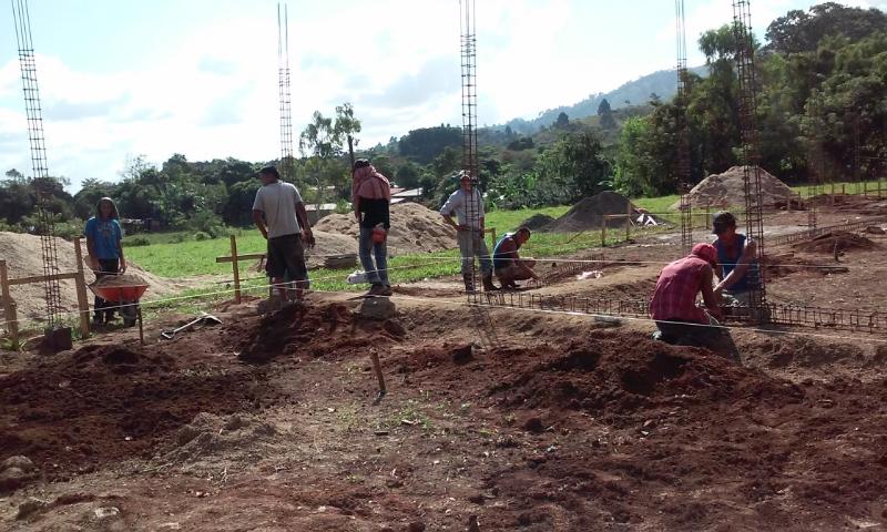 Sreejana School construction