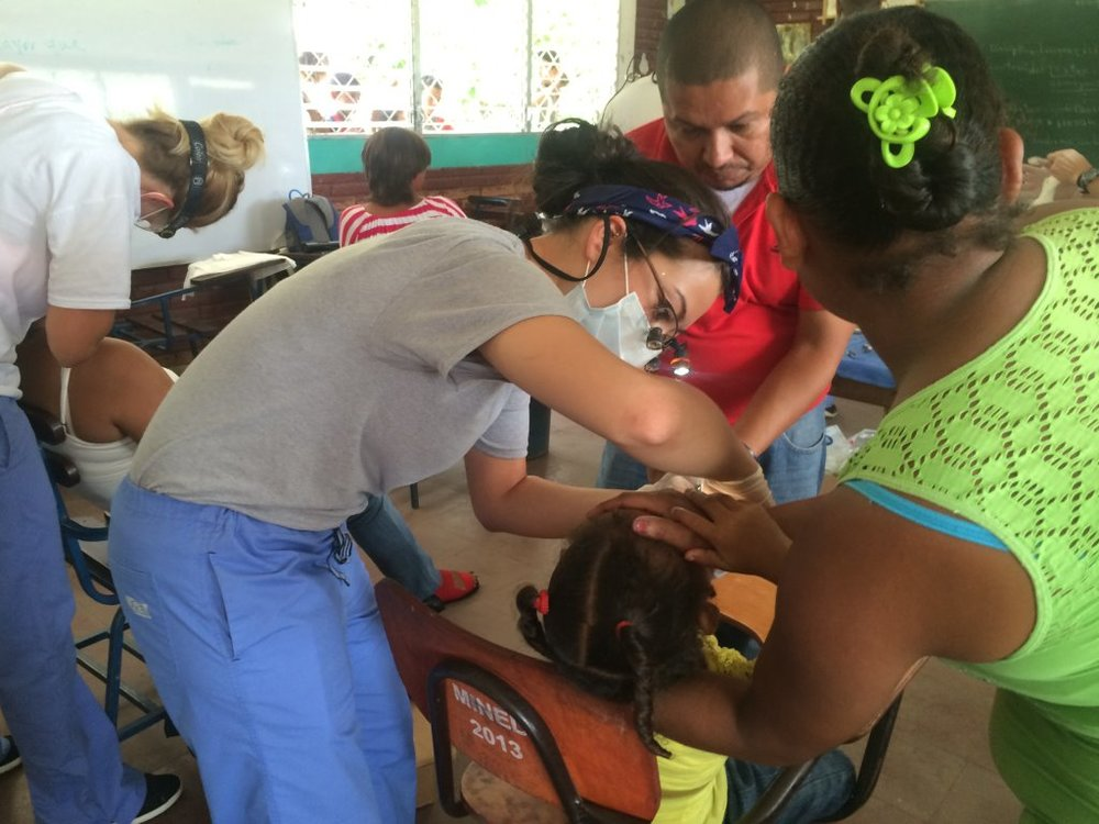 Dental clinic in Jalapa, summer 2014
