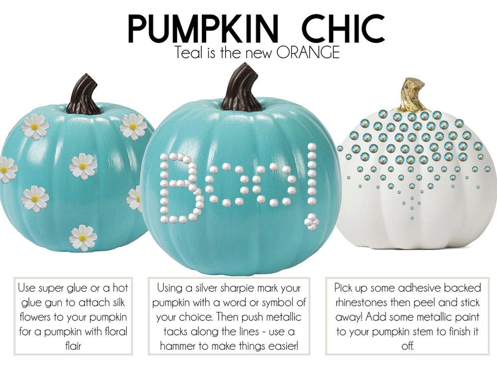 Pumpkin Chic