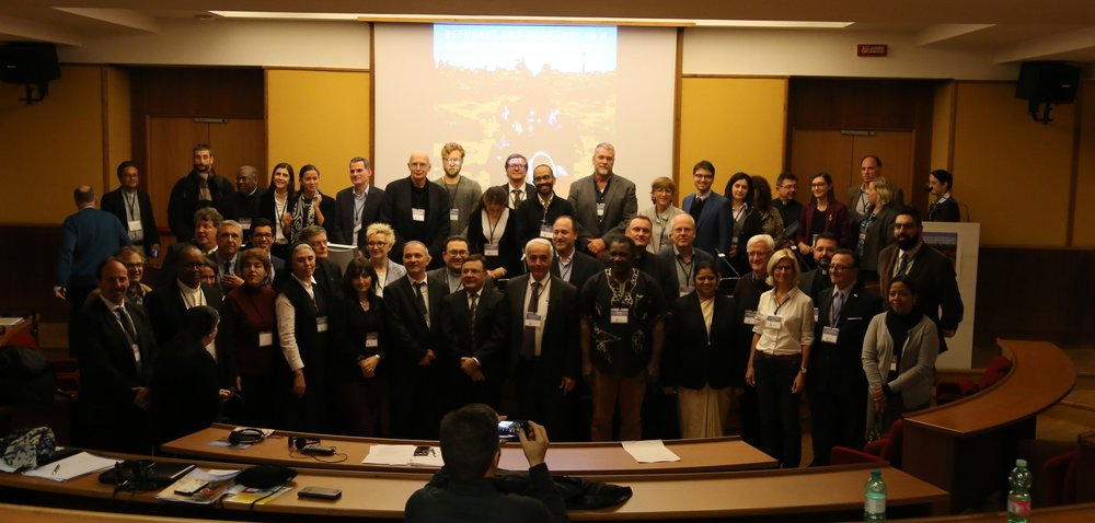 The founding members of the IMRE conference