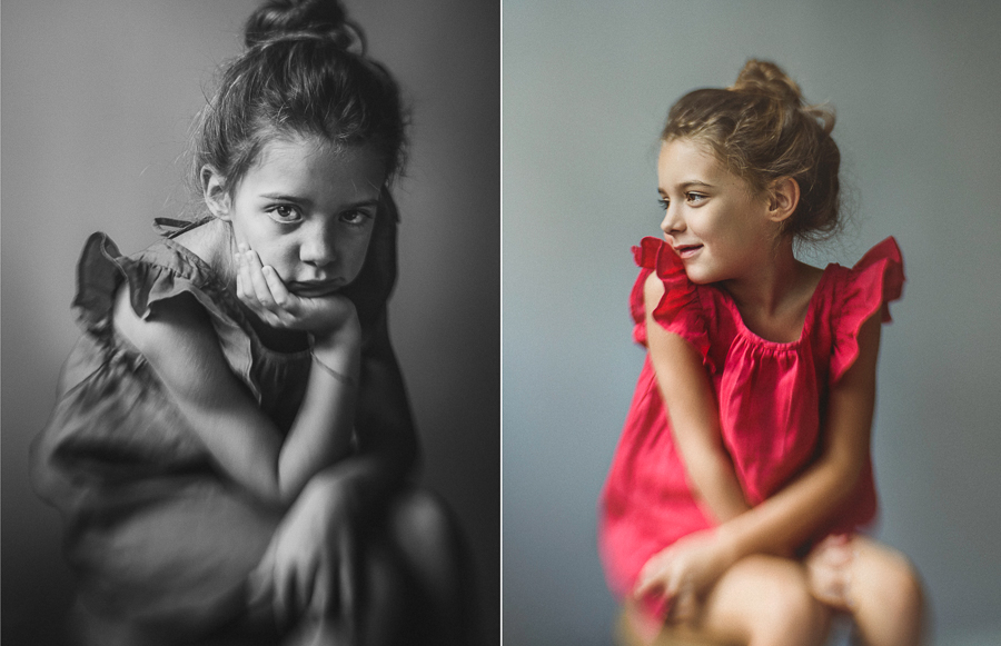 child portrait shot with lensbaby composer pro II sweet 35 optic by anita perminova amsterdam portrait photographer
