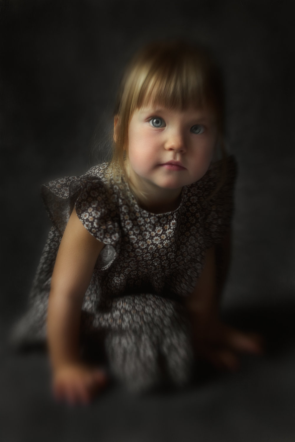 fine art portraiture child mom and children woman photography