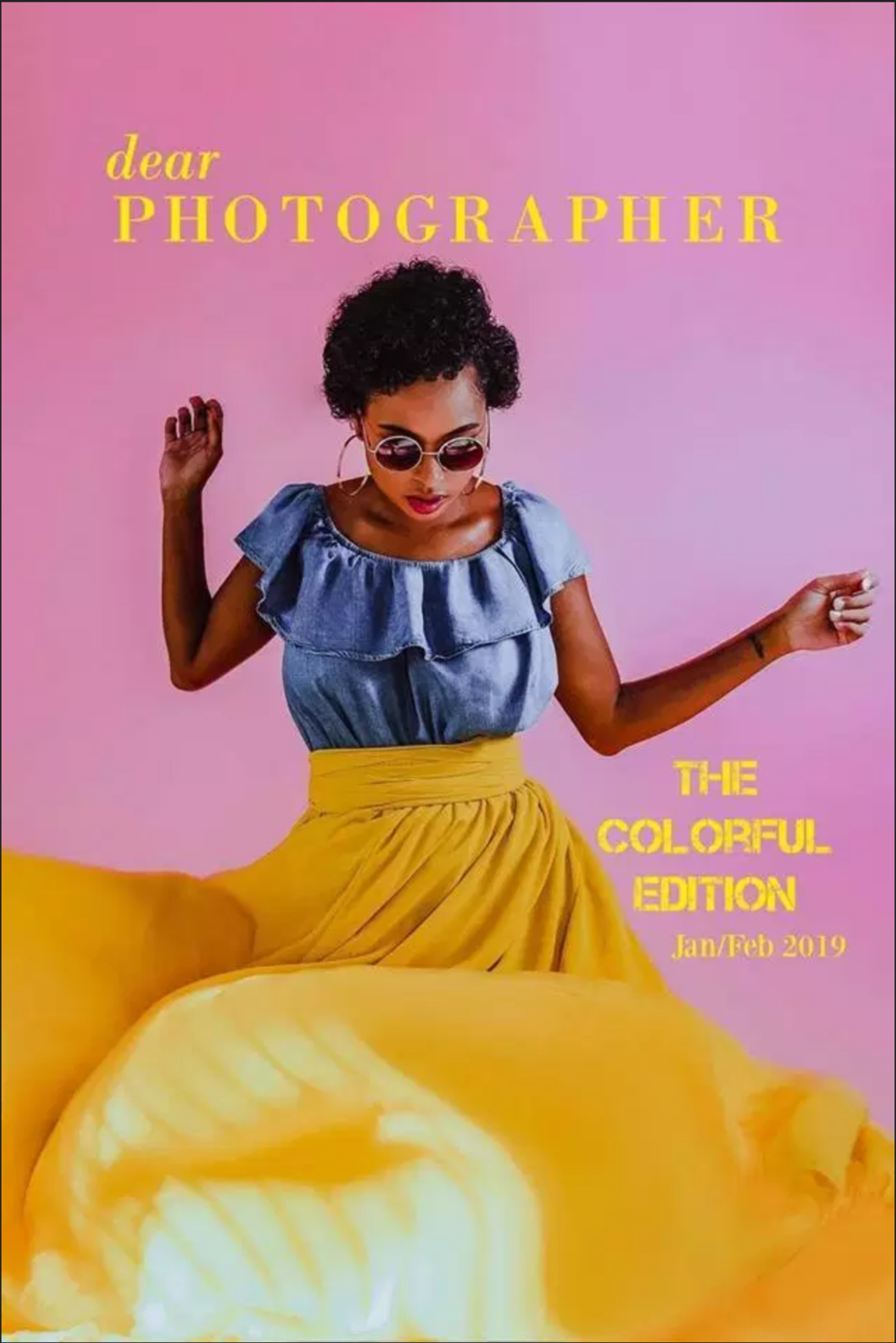 DEAR PHOTOGRAPHER MAGAZINE - The COLORFUL Edition: Top 10 2018