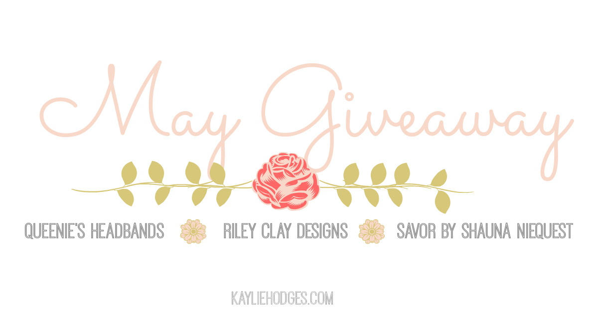 May Giveaway