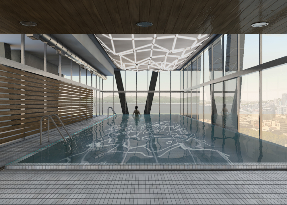 20th FLOOR FITNESS CENTER - POOL CONCEPT