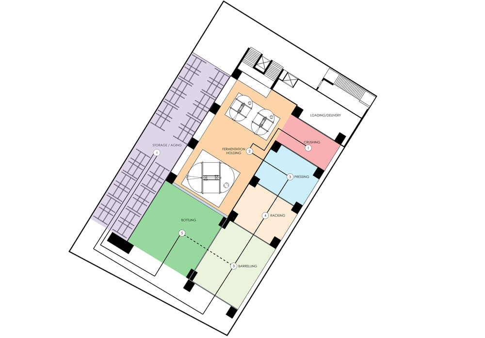 LOWER FLOOR PLAN PROGRAMMING