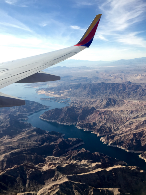 Lake Mead; Notice water rings showing low lake level -  Photo by Thomas Thatcher