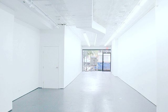 Need an exhibition space on the lower east side. Perfect for launching brands and PopUps! Check out Avennu.com✌🏽️