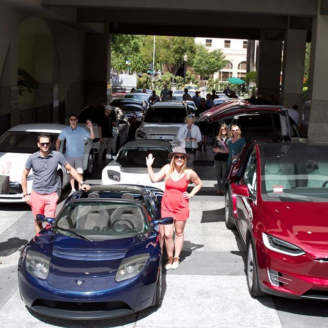 Amador County Poker Run #teslamotors