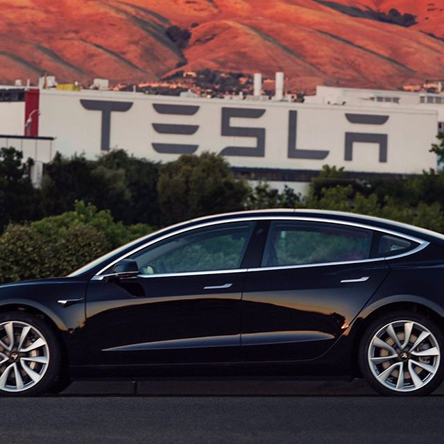 First #teslamodel3 is out. World is changing.