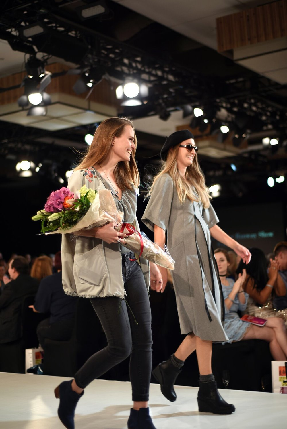 Victory lap at Bellevue Fashion Week. Image courtesy of Elenna Loredana