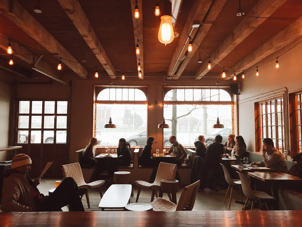 "On How To Open A Bar: ""research the heck out of what creates an inviting and comfortable place for people to hang out.""  Photo Courtesy of   Alicia Palaniuk"