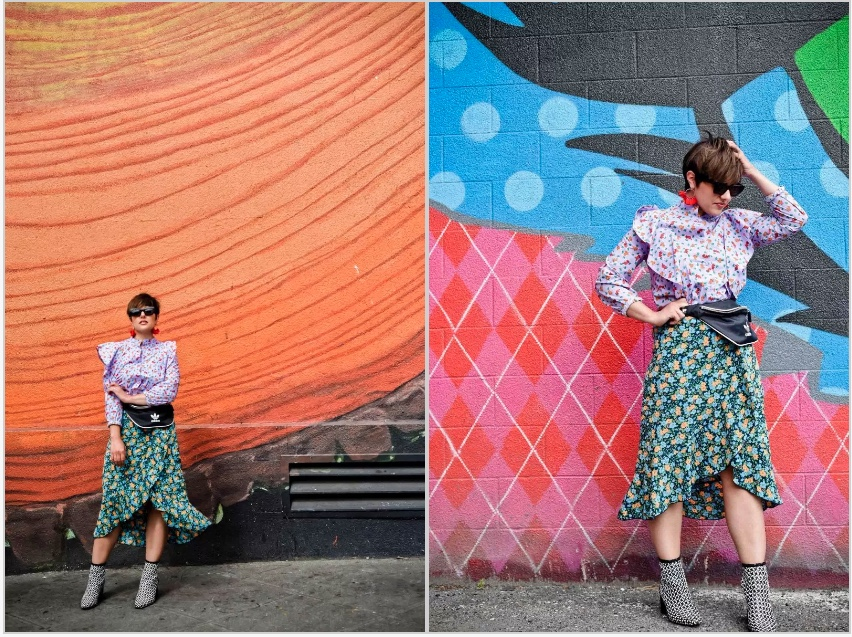 "Rebecca's recent post  ""Clashing Prints: The New Way To Mix Your Fall Prints""     Image courtesy of Rebecca"