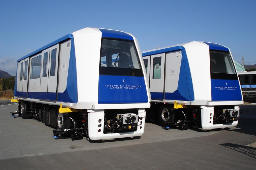 Aero Train Vehicles for the Washington Dulles APM System