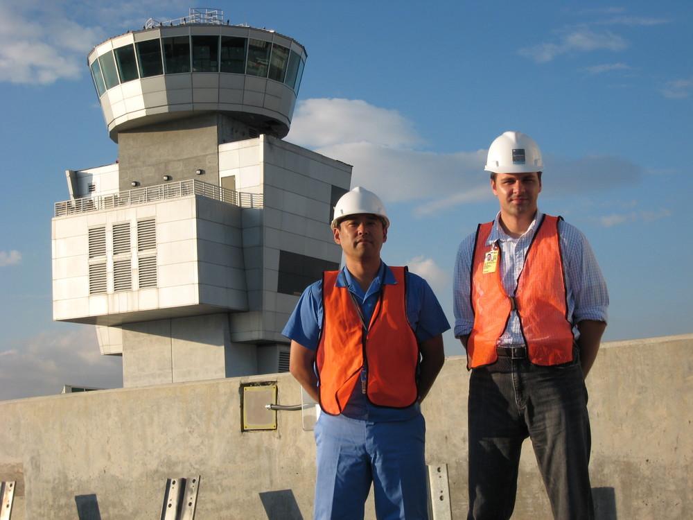 LBTC Staff at Miami International Airport North Terminal Development PRoject Site