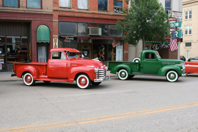 1947 & 1941 Chevys