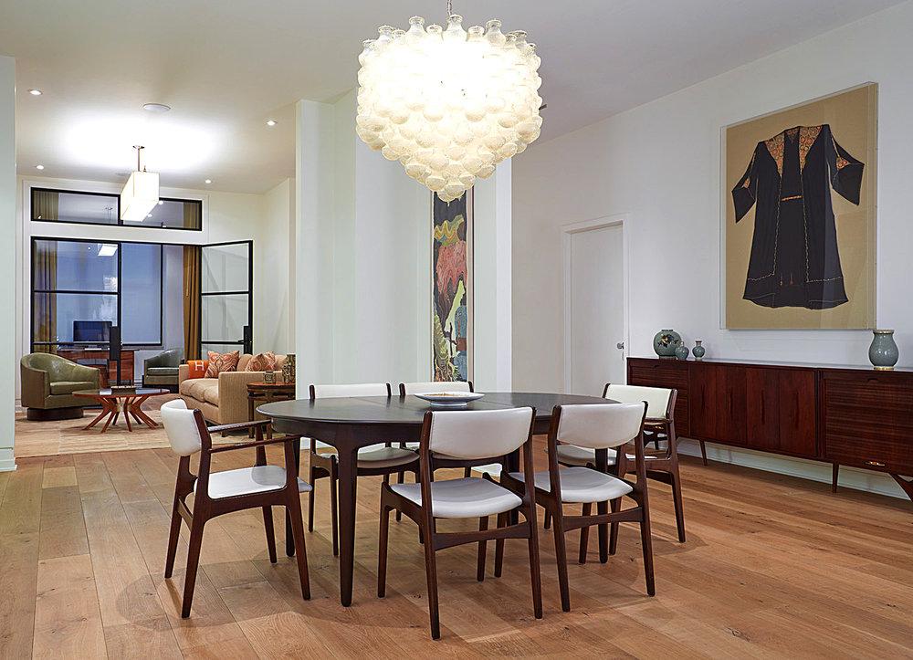 Chelsea Loft Dining Room