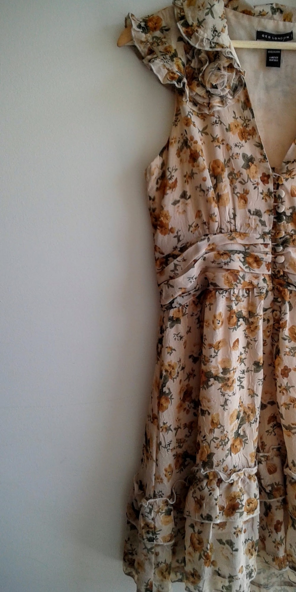 QED London  dress; size M, $26