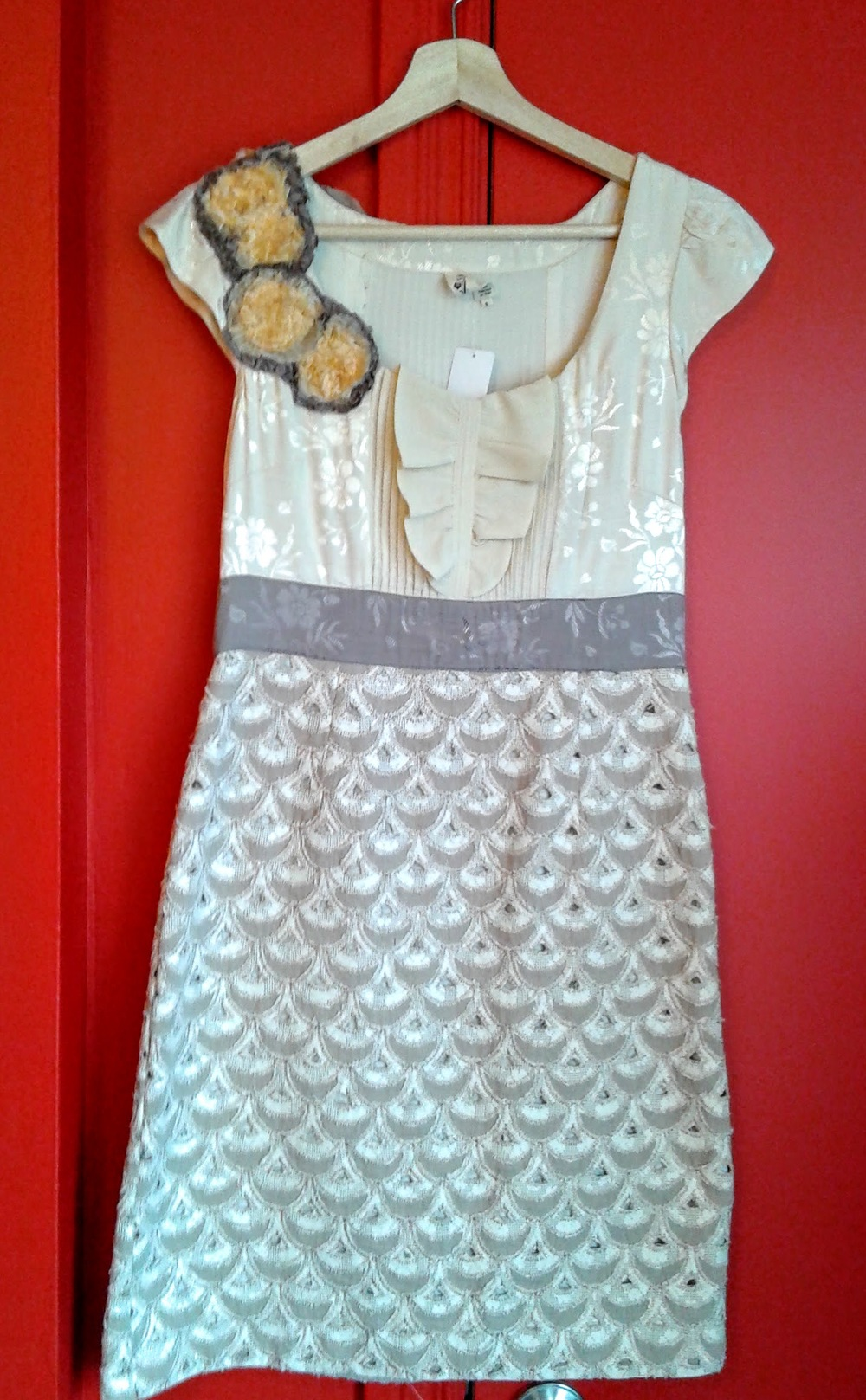 Floreat dress; Size 6, $42