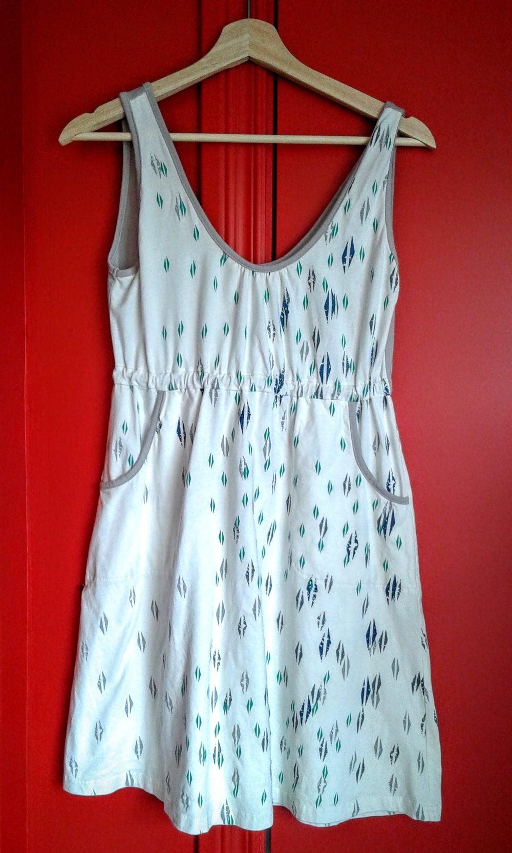 Loden dress, Size M, $28