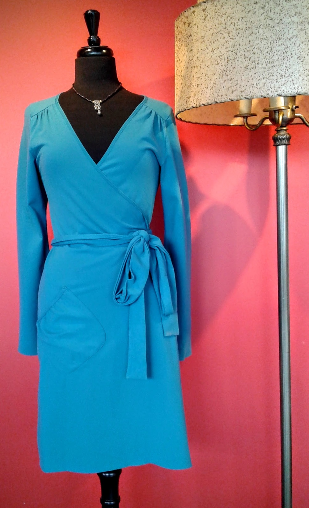 Lululemon dress (NWT), Size 8, $40; Bell necklace, $20