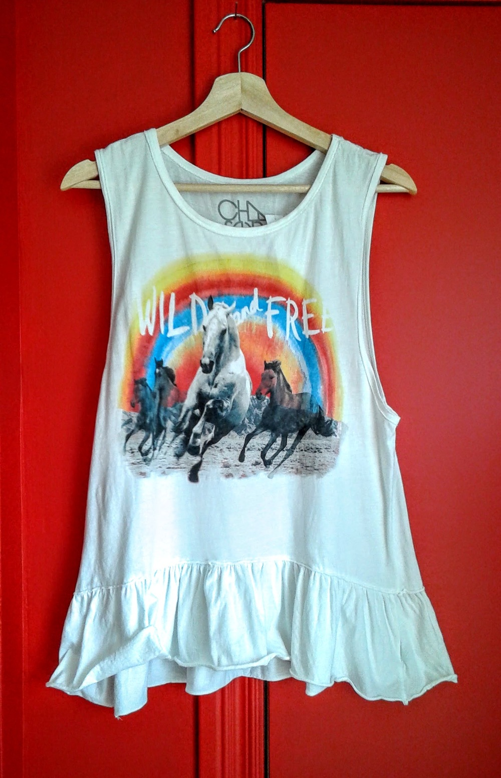 Chaser tank; Size M, $16