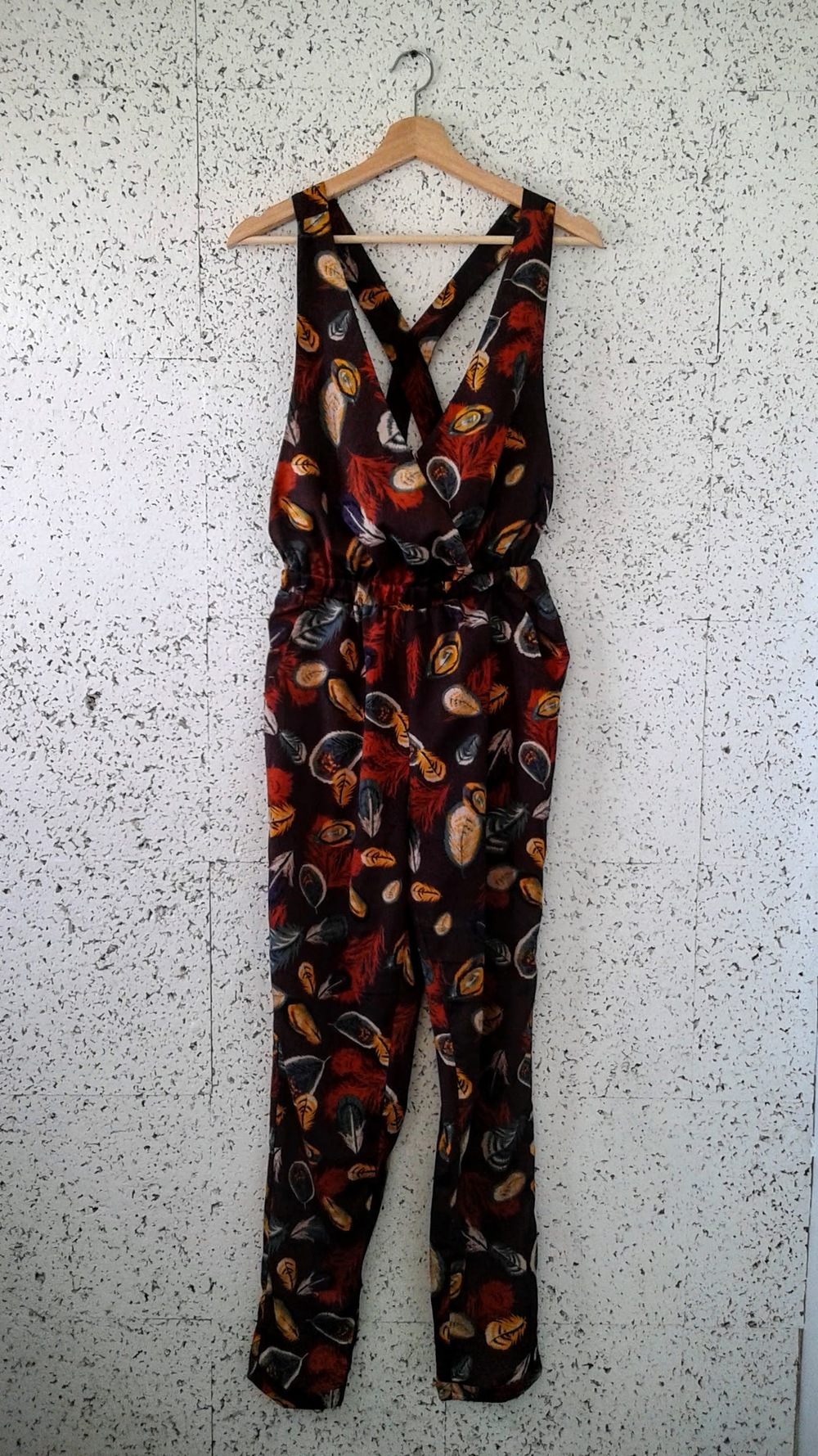Hot and Delicious jumpsuit; Size M, $22
