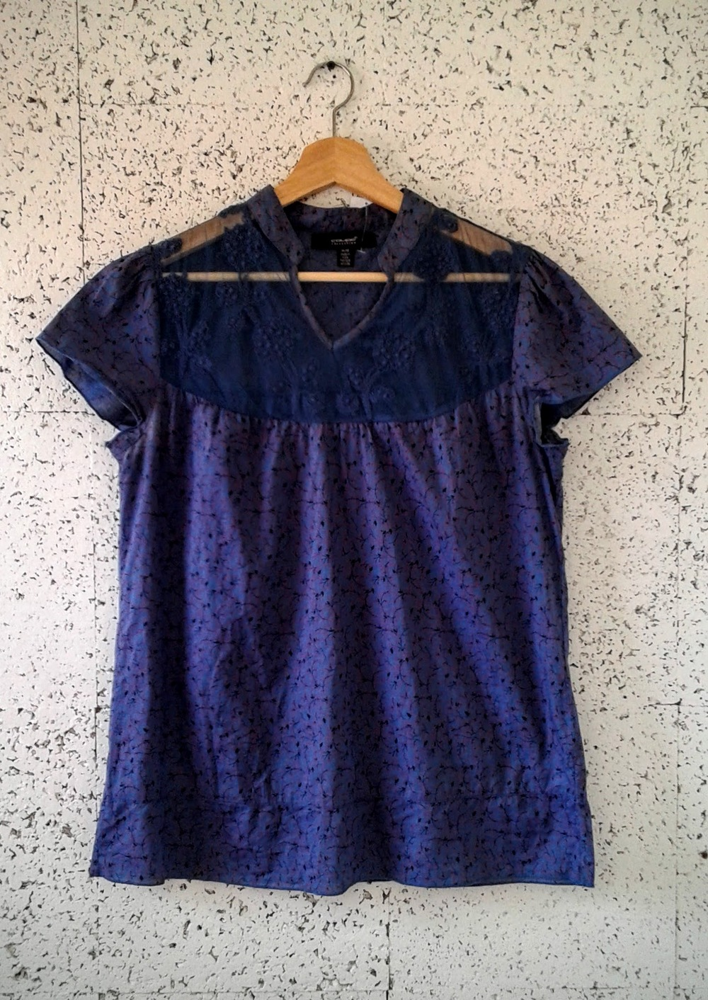 Coupe top; Size M, $18