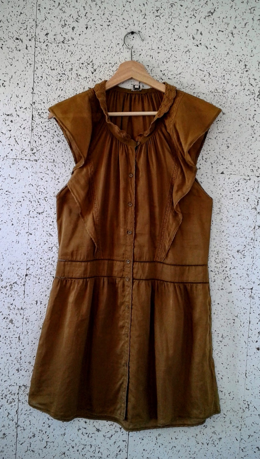 Wilfred dress; Size S, $40