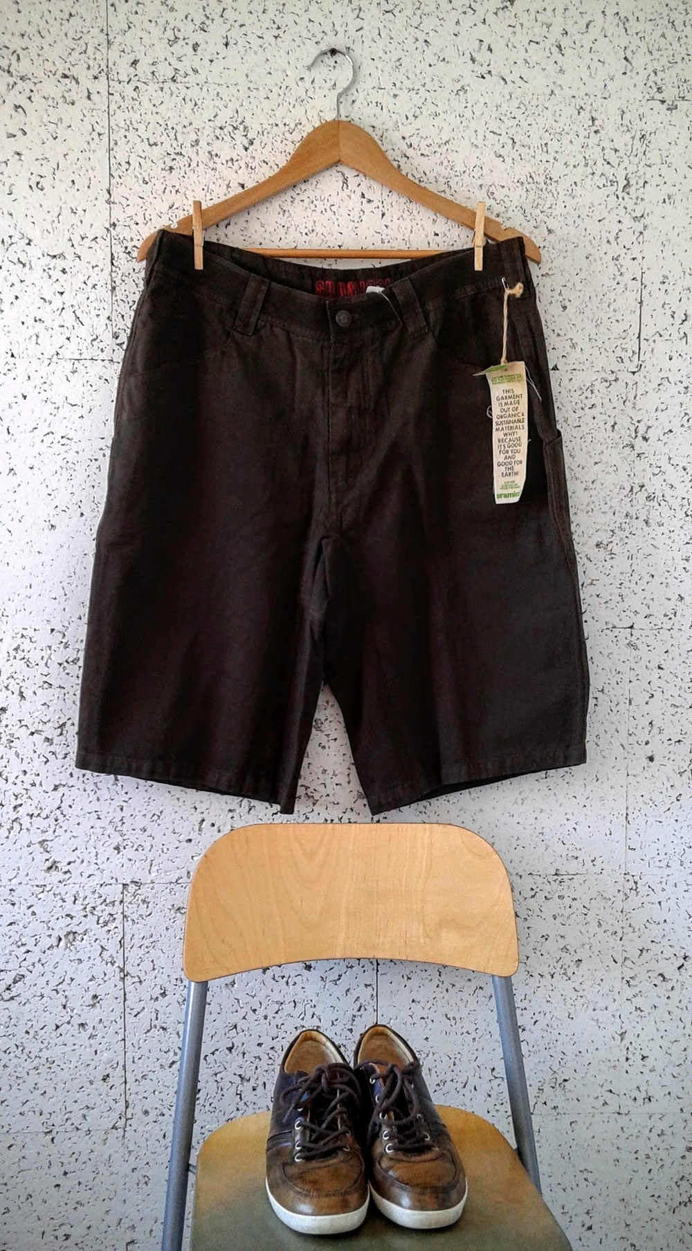 Gramicci  shorts (NWT), Size 34, $28;  Ugg  shoes, S8, $48