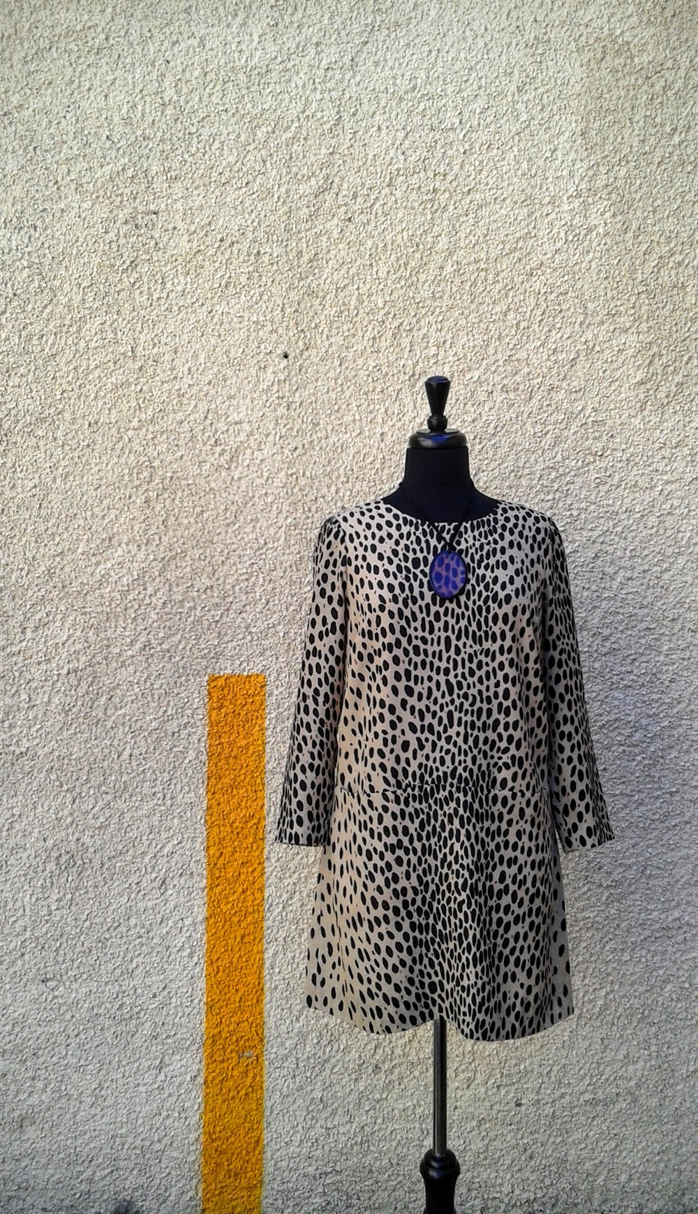 J Crew dress (NWT); Size S, $36; Necklace, $14