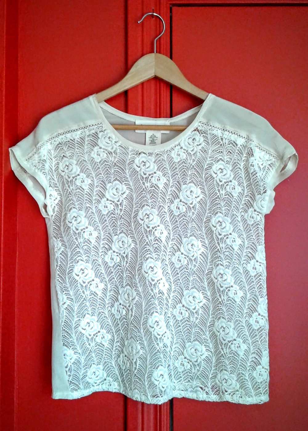 Stitch and Knot top; Size S, $30