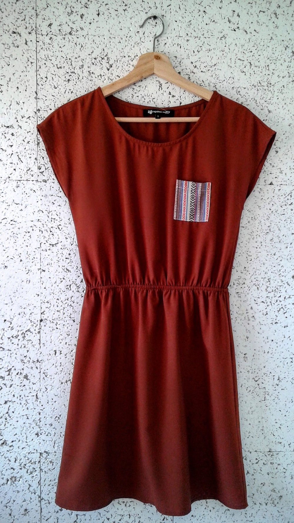 Against Nudity dress; Size S, $26
