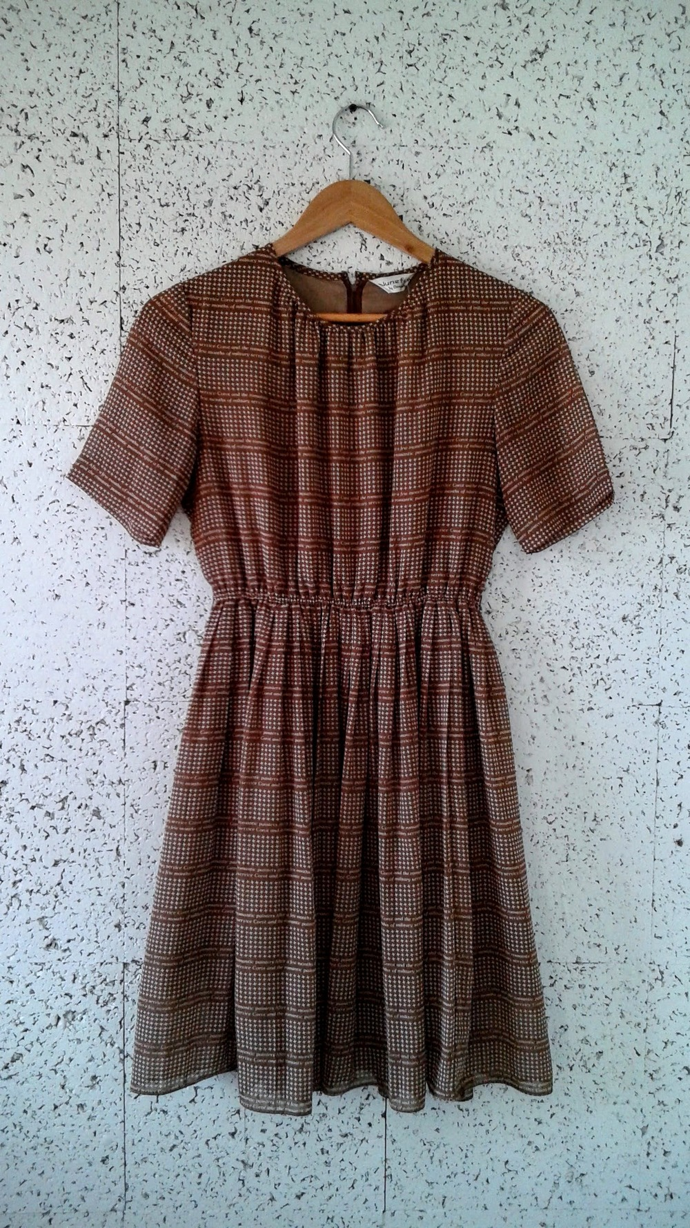 June Fum Onwards dress; Size M, $30