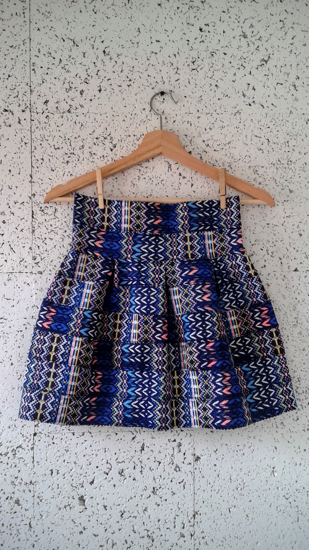 Hand-made skirt; Size S, $16