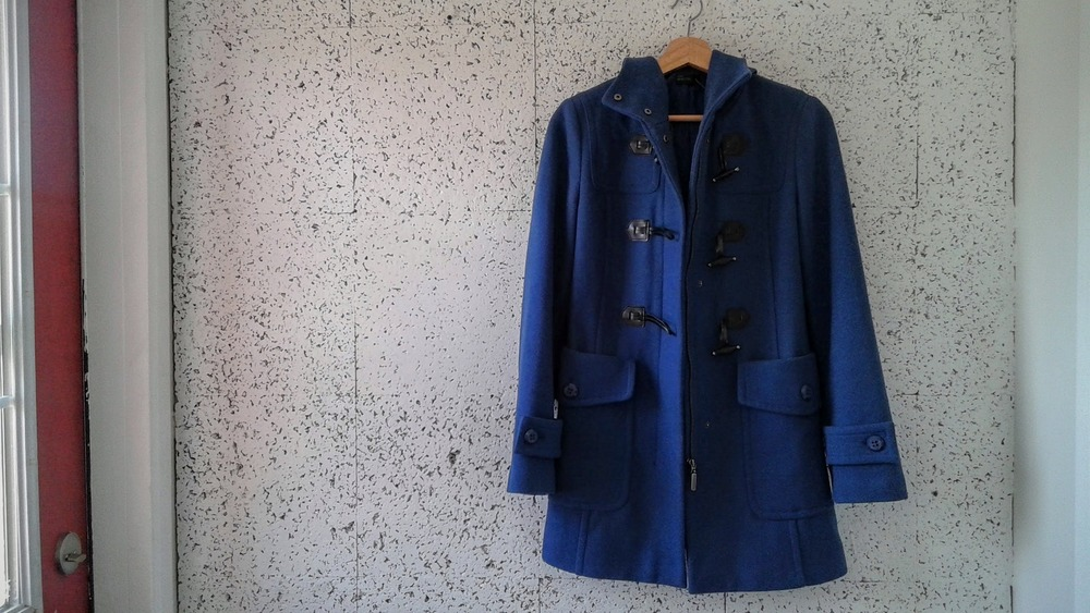 Bentton toggle coat; Size S, $58