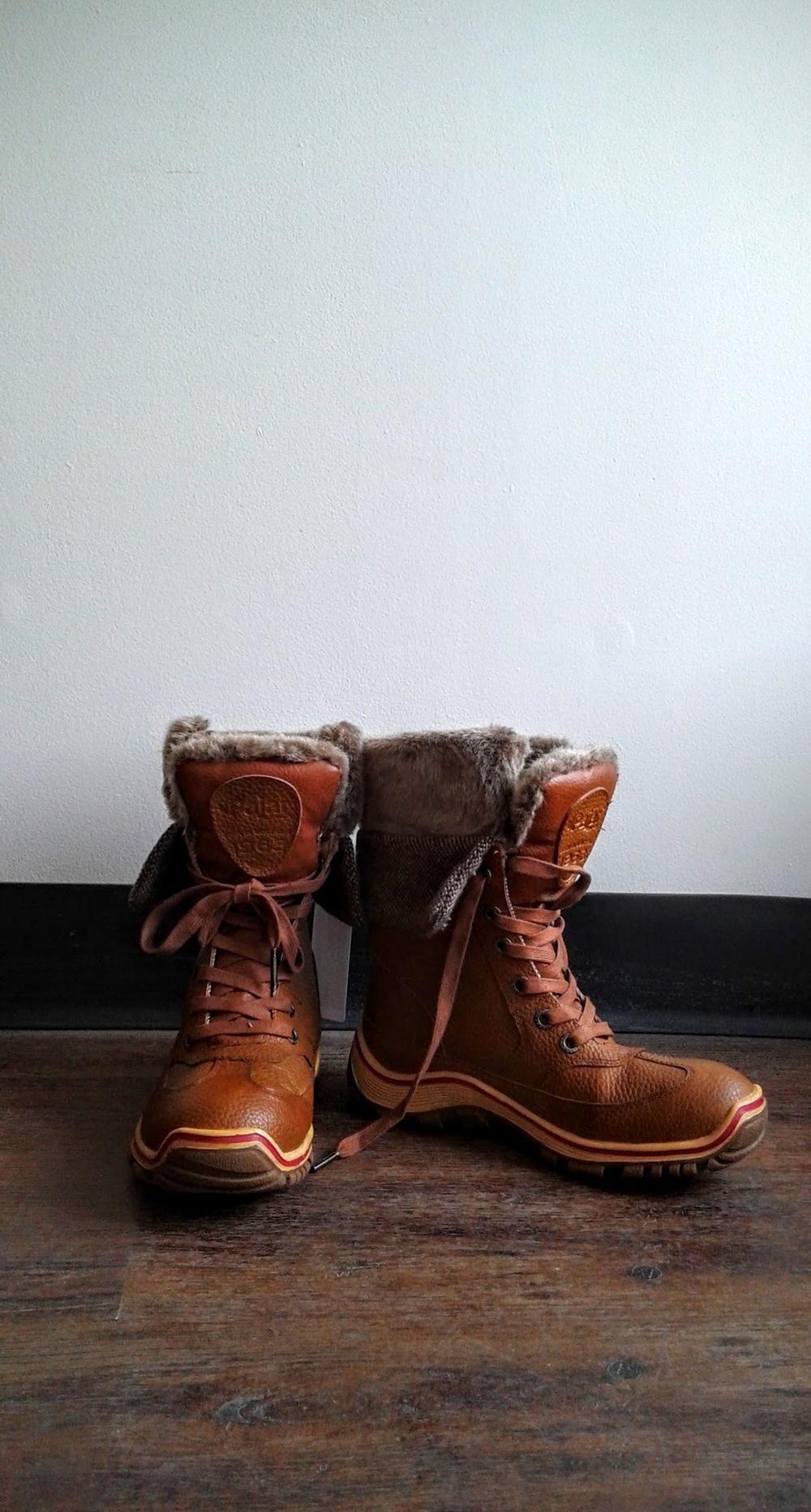 "Pajar ""Alice"" boots; S7.5, $68"