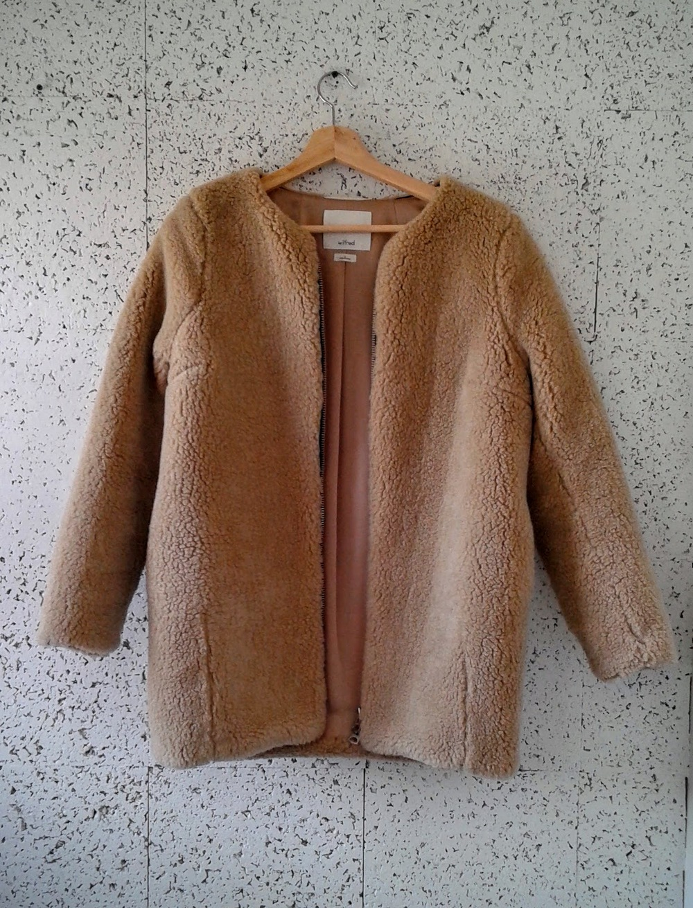 Wilfred coat; Size S, $58
