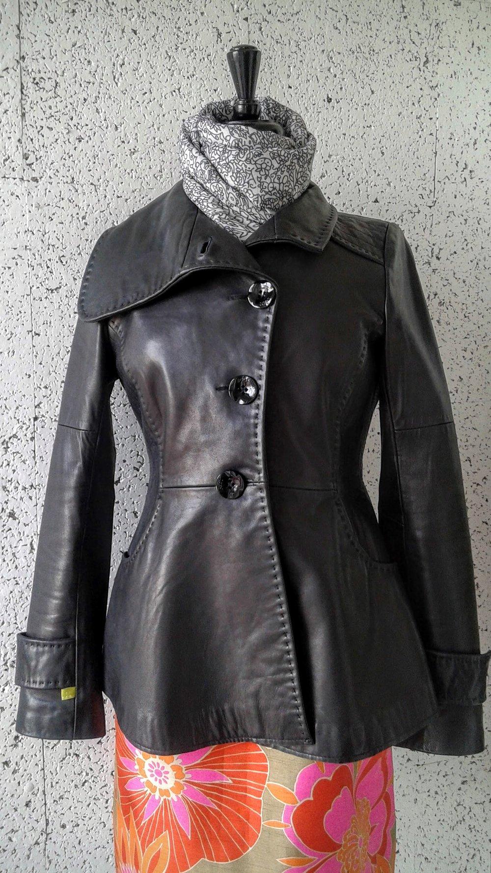 Soïa &Kyo leather jacket; Size M, $225