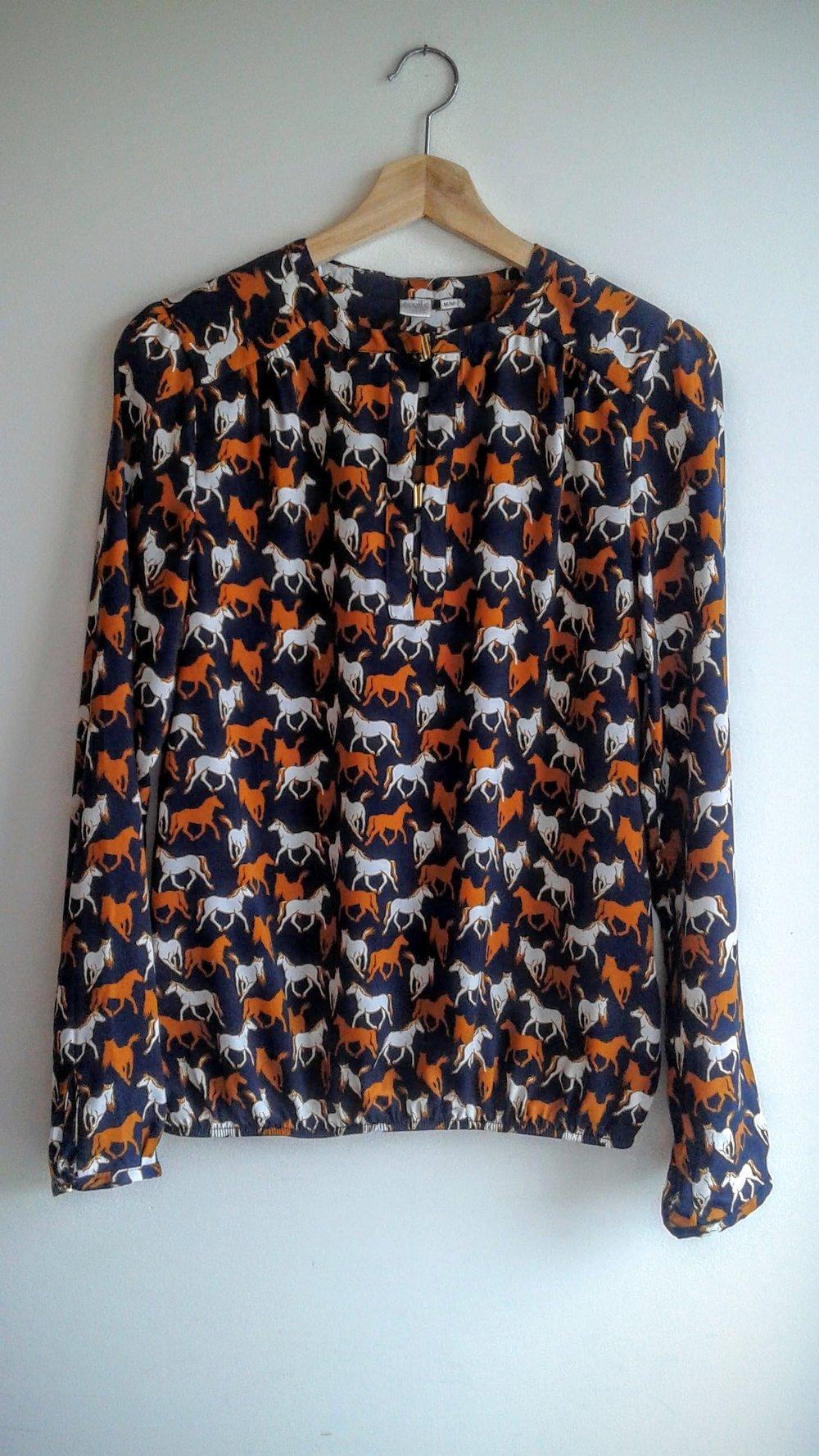 Twik shirt; Size M, $26
