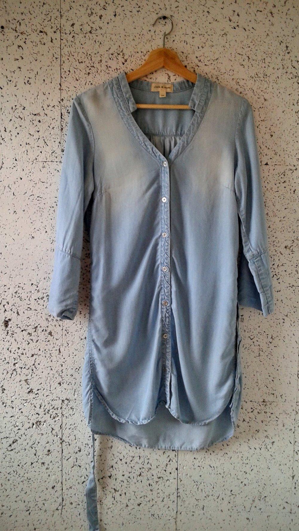 Cloth+Stone tunic; Size XS, $36