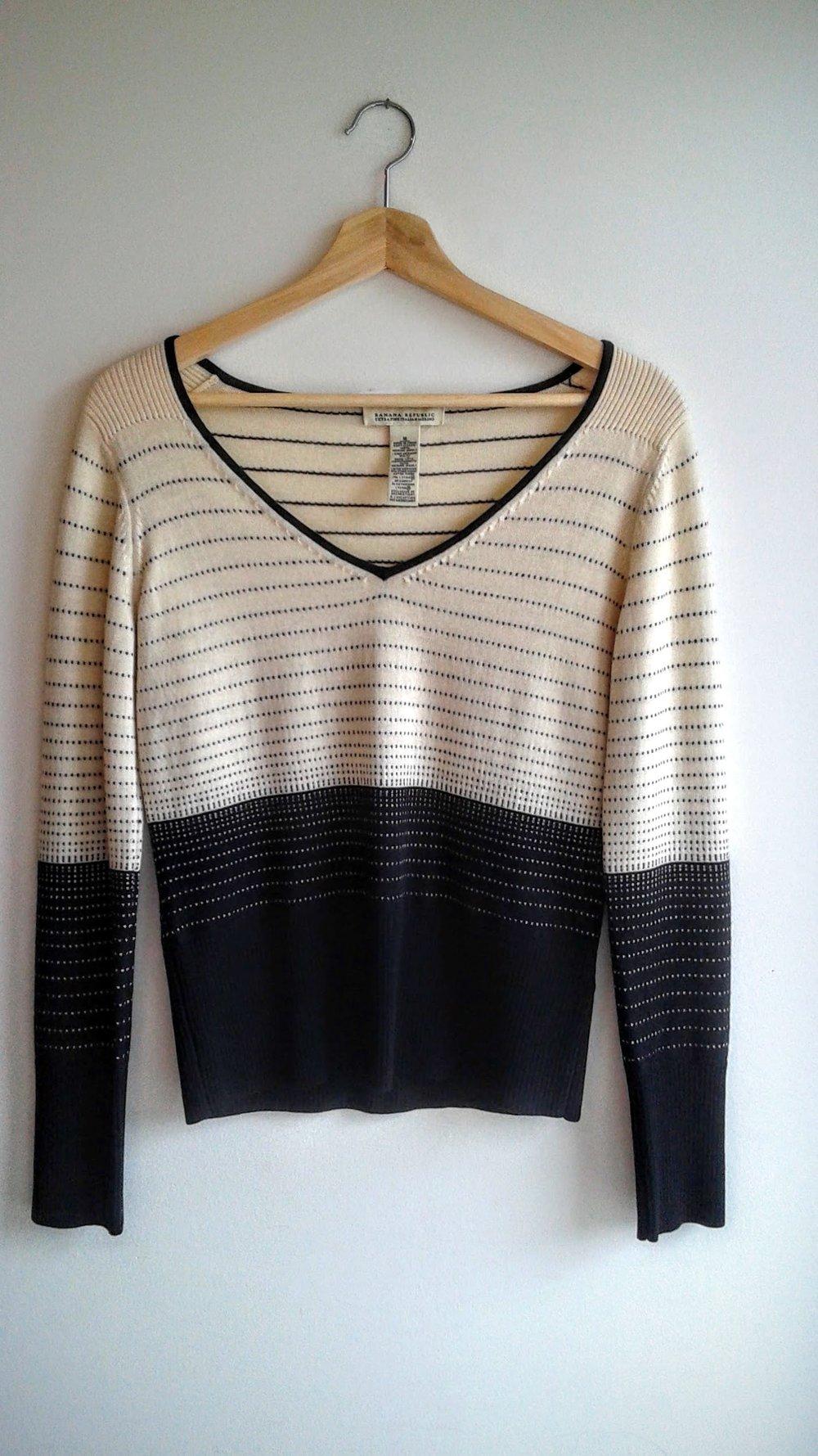 Banana Republic  sweater; Size M, $26