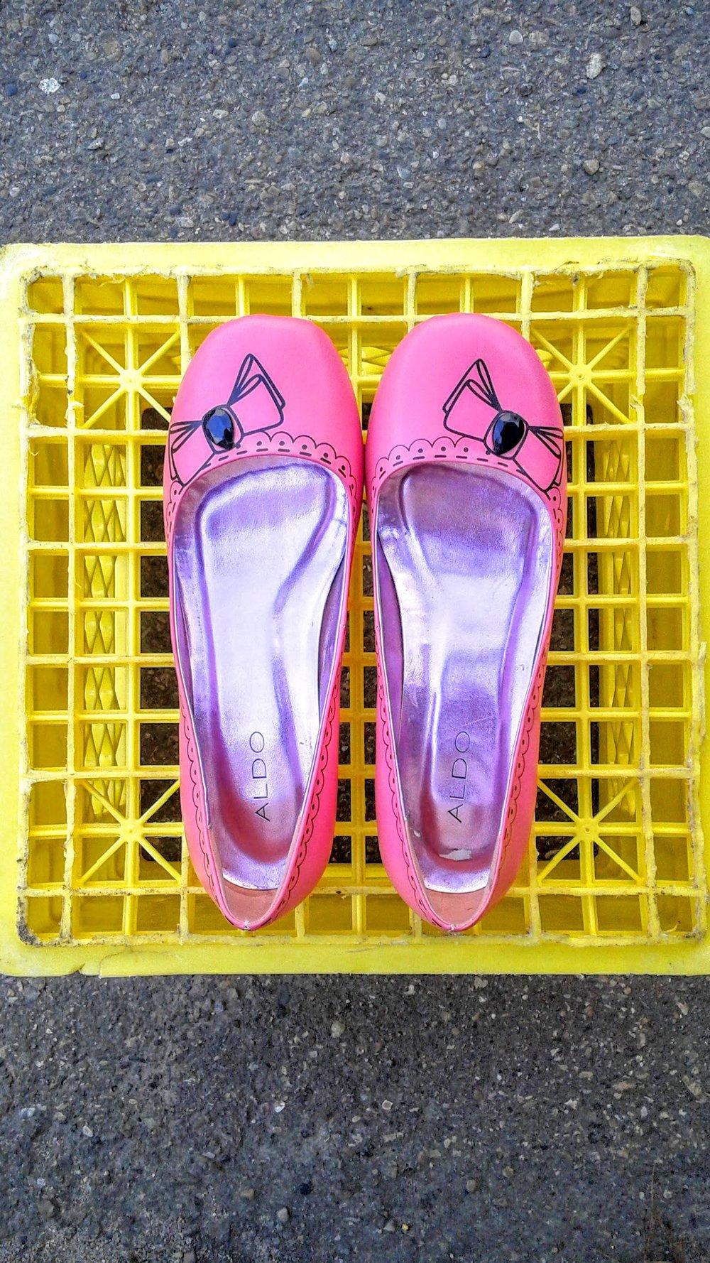 Aldo  shoes; S7.5, $26