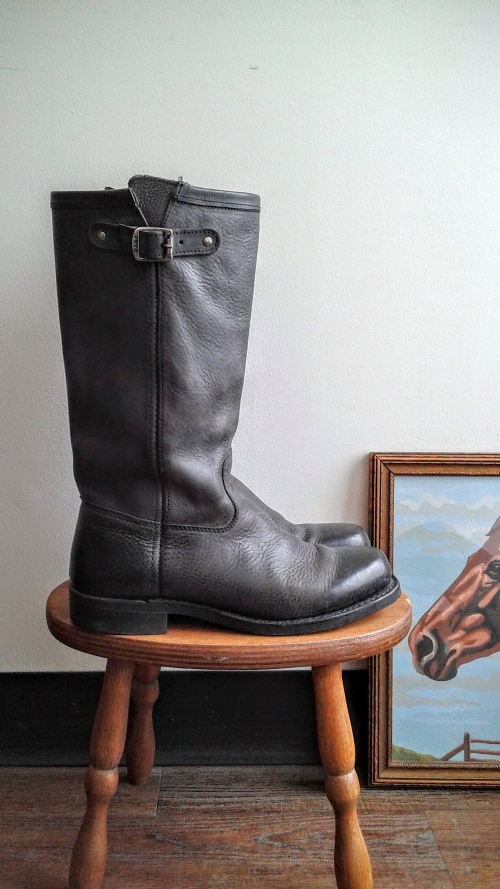 Frye boots; S9, $165