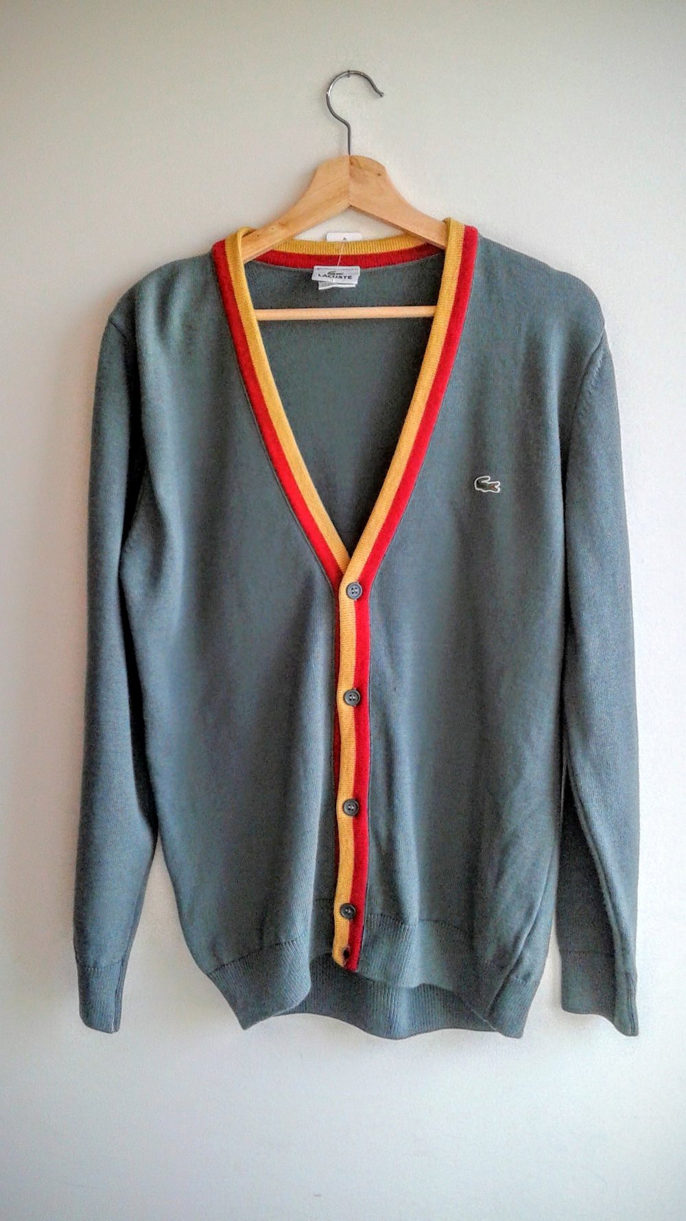Lacoste men's sweater; Size L, $46