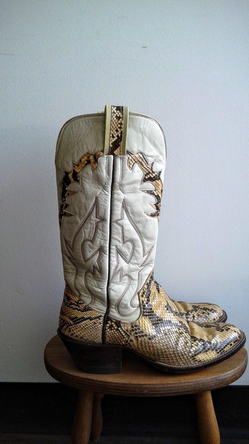 Sanders boots; S8, $150