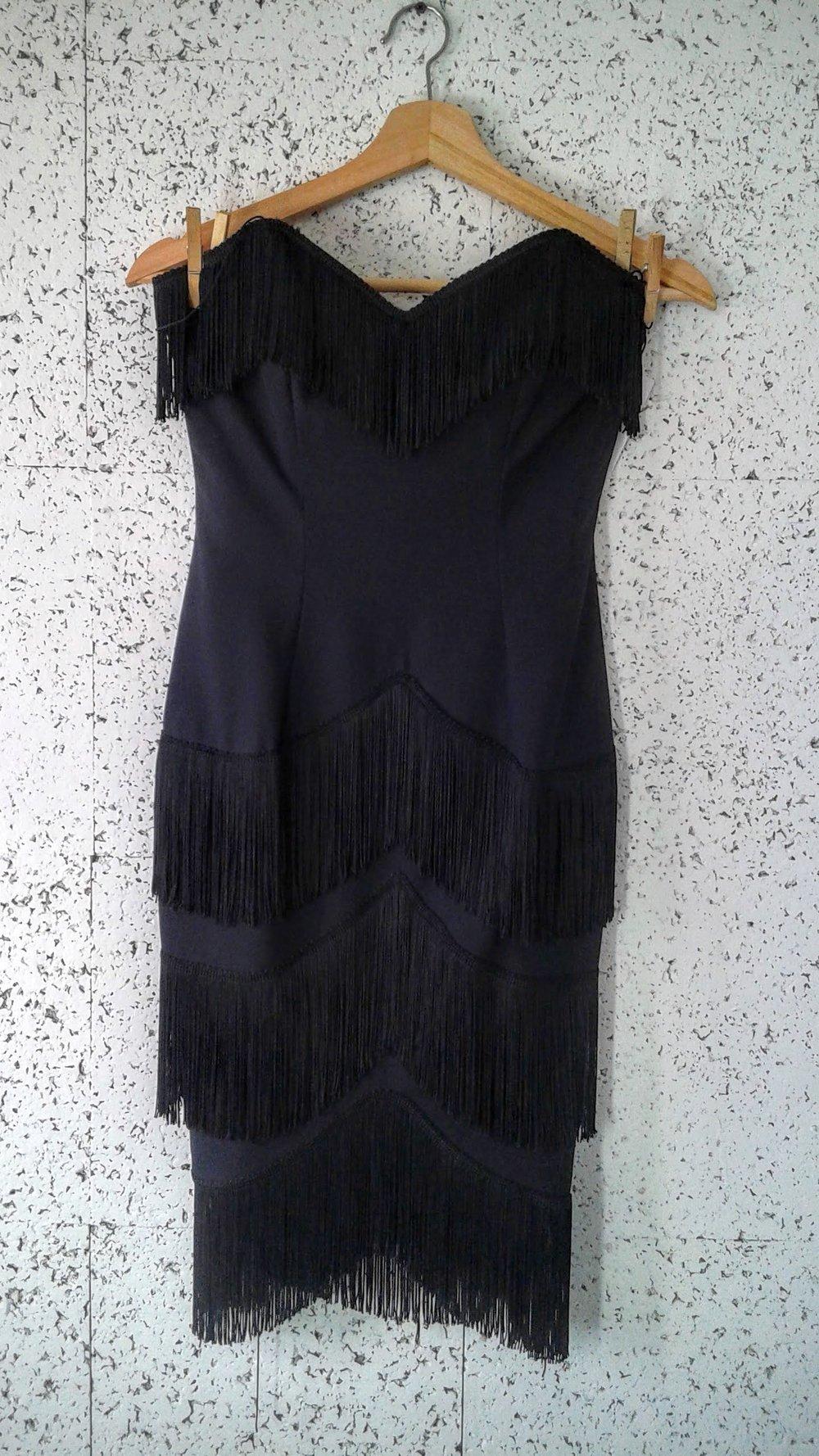 Zakura fringe dress (NWT); Size 6, $28
