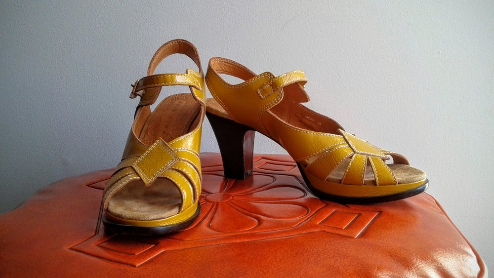 Chie Mihara  shoes; S8.5, $110