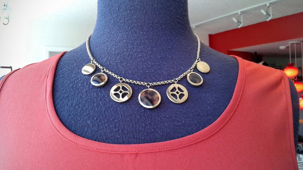 Fossil necklace; $36