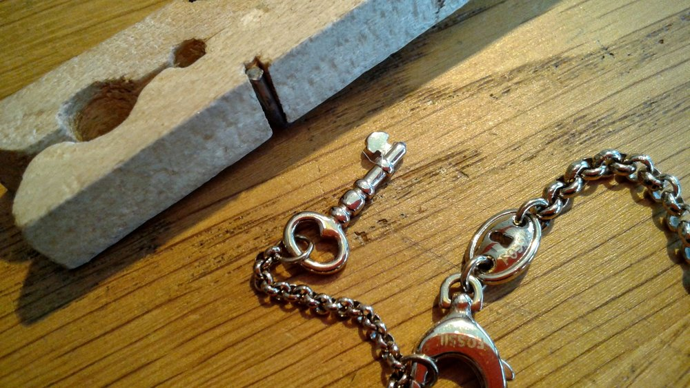 Key and keyhole!